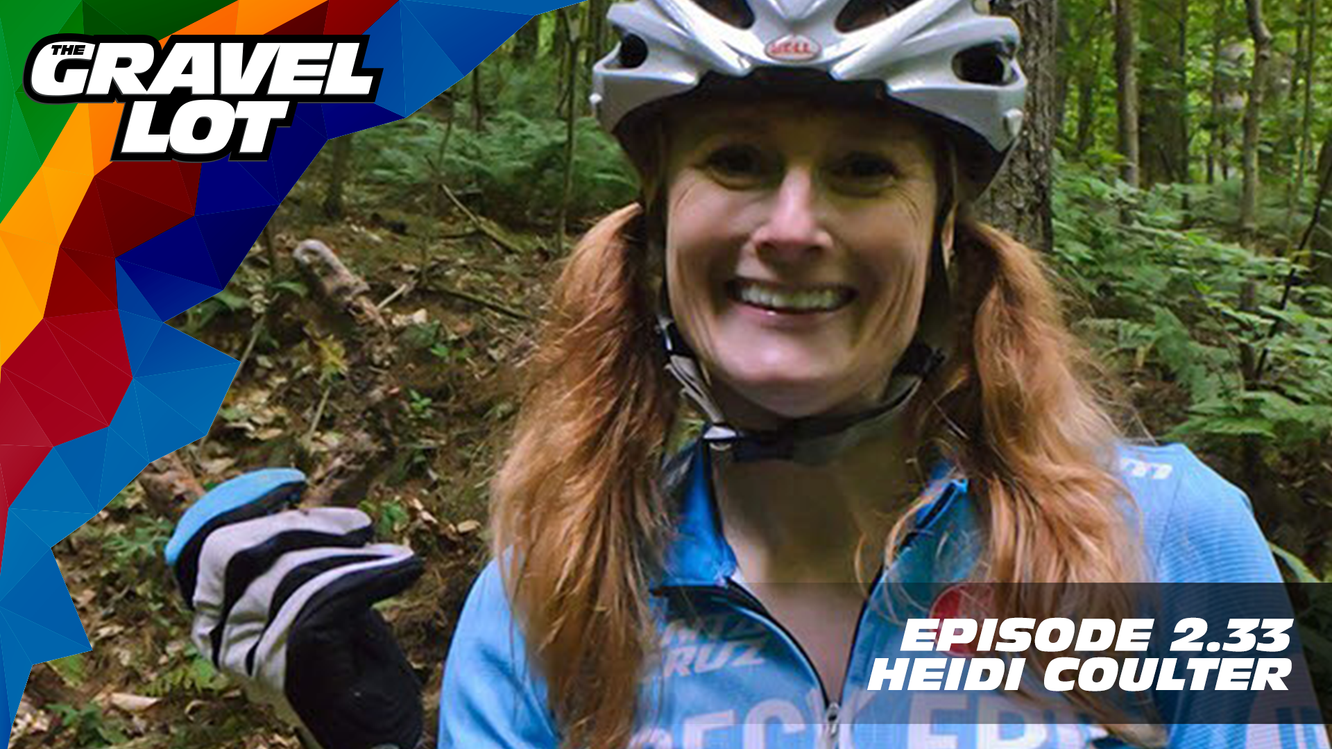 """Heidi Coulter is the Outreach Coordinator for Yay Bikes! in Columbus, Ohio by day, and the President of Central Ohio Mountain Biking Organization (COMBO) after hours. Somewhere in between, she finds time to train and compete as an ultra-endurance athlete. She joins us in the studio this week to talk about all that and more!   Exclusive Preview of Unknown Country: One man's inspirational journey to the Dirty Kanza XL    Visit The Gravel Lot website for our latest podcast, Real Talk videos, Bonus Content, shop, social media, and everything in between.    Grimpeur Brothers Coffee: Purchase The Full Schleck or Hello Cyclocross Friends Espresso and support WAP today!    Handup Gloves: Use code """"PEBBLE$"""" for 20% off EVERYTHING in store.    RoadID: Save $10 off ANY order over $20.    Magas Law Firm:    Be Free Ride Bikes:    Noxgear: Use code """"PEBBLES"""" for 35% off any item.   Subscribe to The Gravel Lot on the  Wide Angle Podium Network and become a member TODAY and get access to EXCLUSIVE bonus content.   Learn more about Undertipper and download their latest album """"Y'all"""" at:  http://undertipper.bandcamp.com/"""
