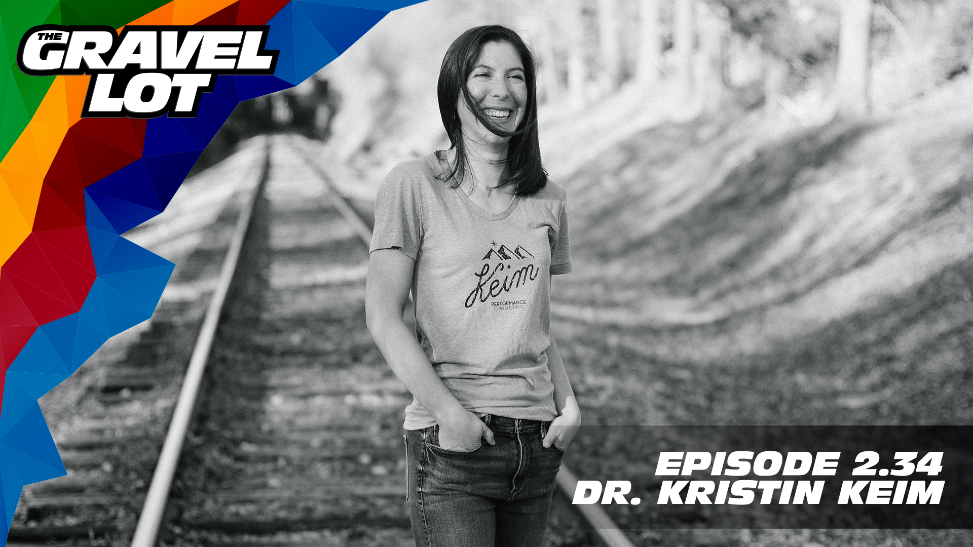 """Dr. Kristin Keim joins us talk all things psychology and happiness. Being a professional athlete is about so much more than physical strength, and slowly but surely, the stigma around mental and emotional well-being (and unicorn wolves) are finally being discussed.   Exclusive Preview of Unknown Country: One man's inspirational journey to the Dirty Kanza XL    Visit The Gravel Lot website for our latest podcast, Real Talk videos, Bonus Content, shop, social media, and everything in between.    Grimpeur Brothers Coffee: Purchase The Full Schleck or Hello Cyclocross Friends Espresso and support WAP today!    Handup Gloves: Use code """"PEBBLE$"""" for 20% off EVERYTHING in store.    RoadID: Save $10 off ANY order over $20.    Magas Law Firm:    Be Free Ride Bikes:    Noxgear: Use code """"PEBBLES"""" for 35% off any item.   Subscribe to The Gravel Lot on the  Wide Angle Podium Network and become a member TODAY and get access to EXCLUSIVE bonus content.   Learn more about Undertipper and download their latest album """"Y'all"""" at:  http://undertipper.bandcamp.com/"""