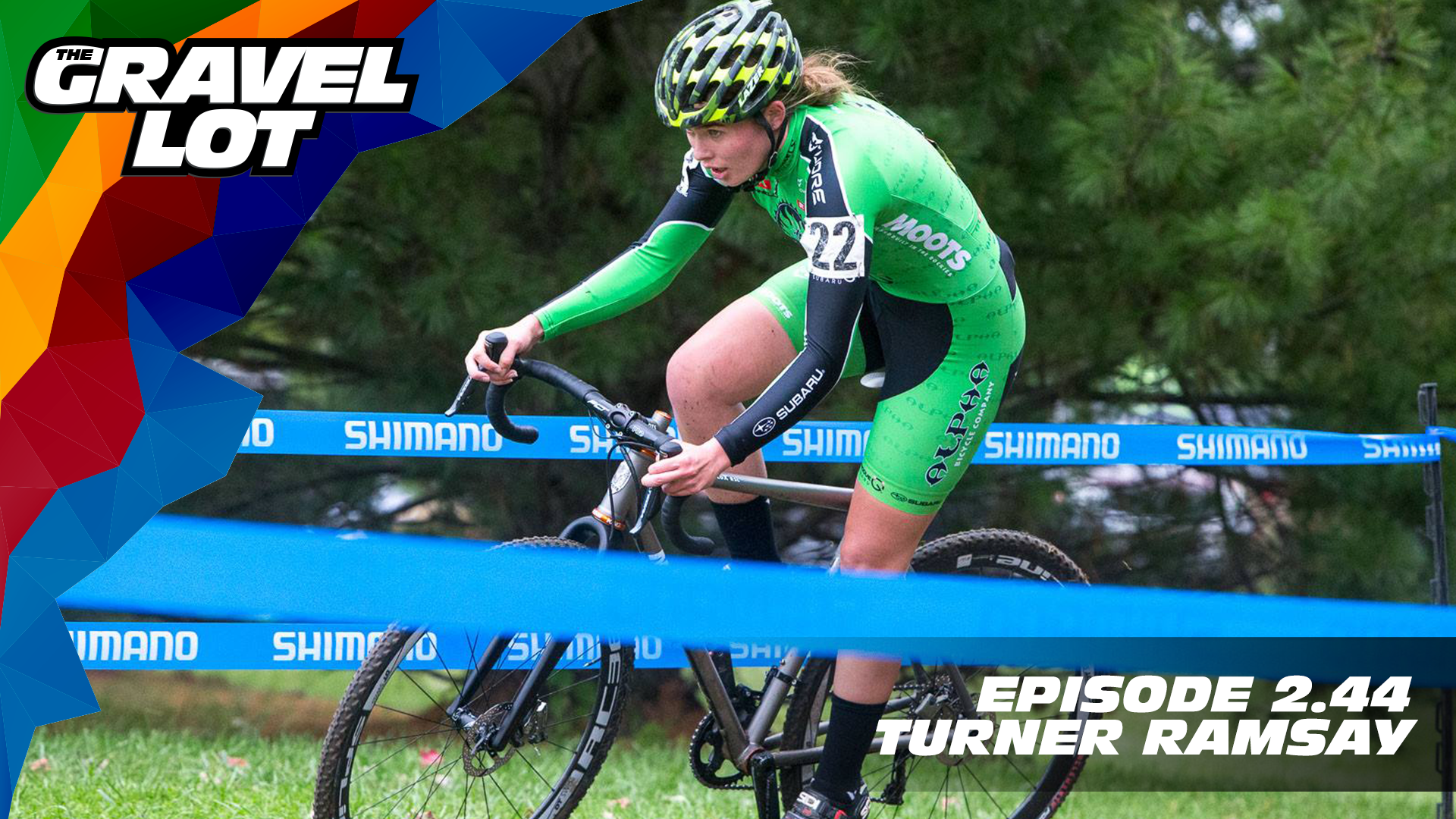 "Originally from Vermont, Turner Ramsay has grown up on cyclocross venues across the globe, winning races and even a National Championship along the way. We sat down with her inside of Trek HQ in Waterloo and discuss tacos, maple syrup, and what it feels like to win a National Championship. Photo: Kent Baumgardt   Precision Hydration: Save 15% off on entire order using code ""gravellot"" at checkout    Learn more about the WORX Hydroshot: Use code ""cleanbike"" at checkout for 15% off    WHOOP    Grimpeur Brothers Coffee: Purchase The Full Schleck or Hello Cyclocross Friends Espresso and support WAP today!    Handup Gloves: Use code ""PEBBLE$"" for 20% off EVERYTHING in store.    RoadID: Save $10 off ANY order over $20.    Be Free Ride Bikes:    Exclusive Preview of Unknown Country: One man's inspirational journey to the Dirty Kanza XL    Visit The Gravel Lot website for our latest podcast, Real Talk videos, Bonus Content, shop, social media, and everything in between.   Subscribe to The Gravel Lot on the  Wide Angle Podium Network and become a member TODAY and get access to EXCLUSIVE bonus content.   Learn more about Undertipper and download their latest album ""Y'all"" at:  http://undertipper.bandcamp.com/"