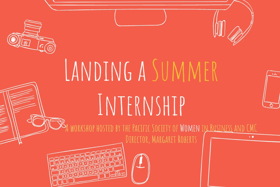- Landing a Summer InternshipIn this workshop, Professor Margaret Roberts gave some insights to PSWIB members about the importance of finding the perfect summer internship and gaining exposure to their Career.February 19th, 2019