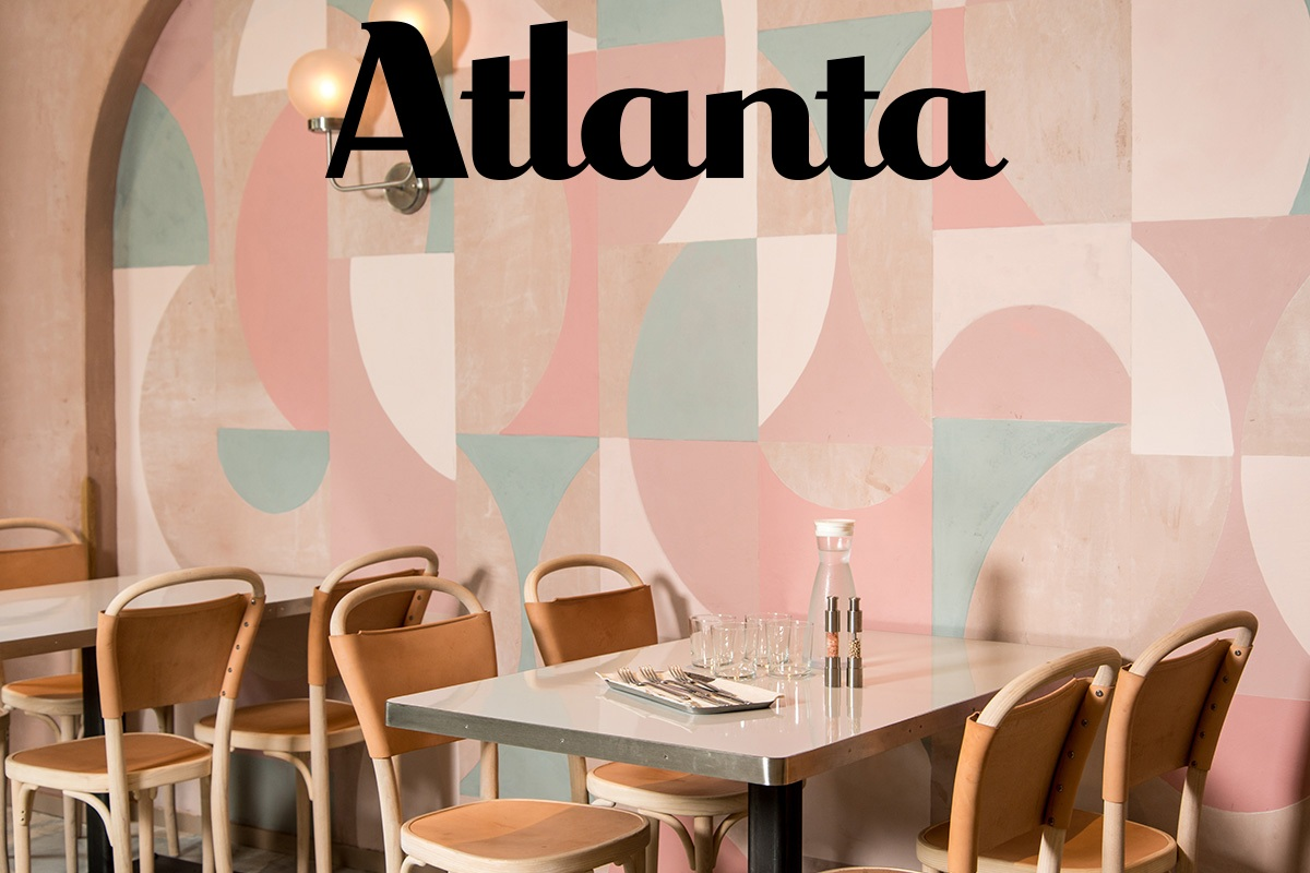 the 1970s are back - just take a look at these atlanta restaurants -