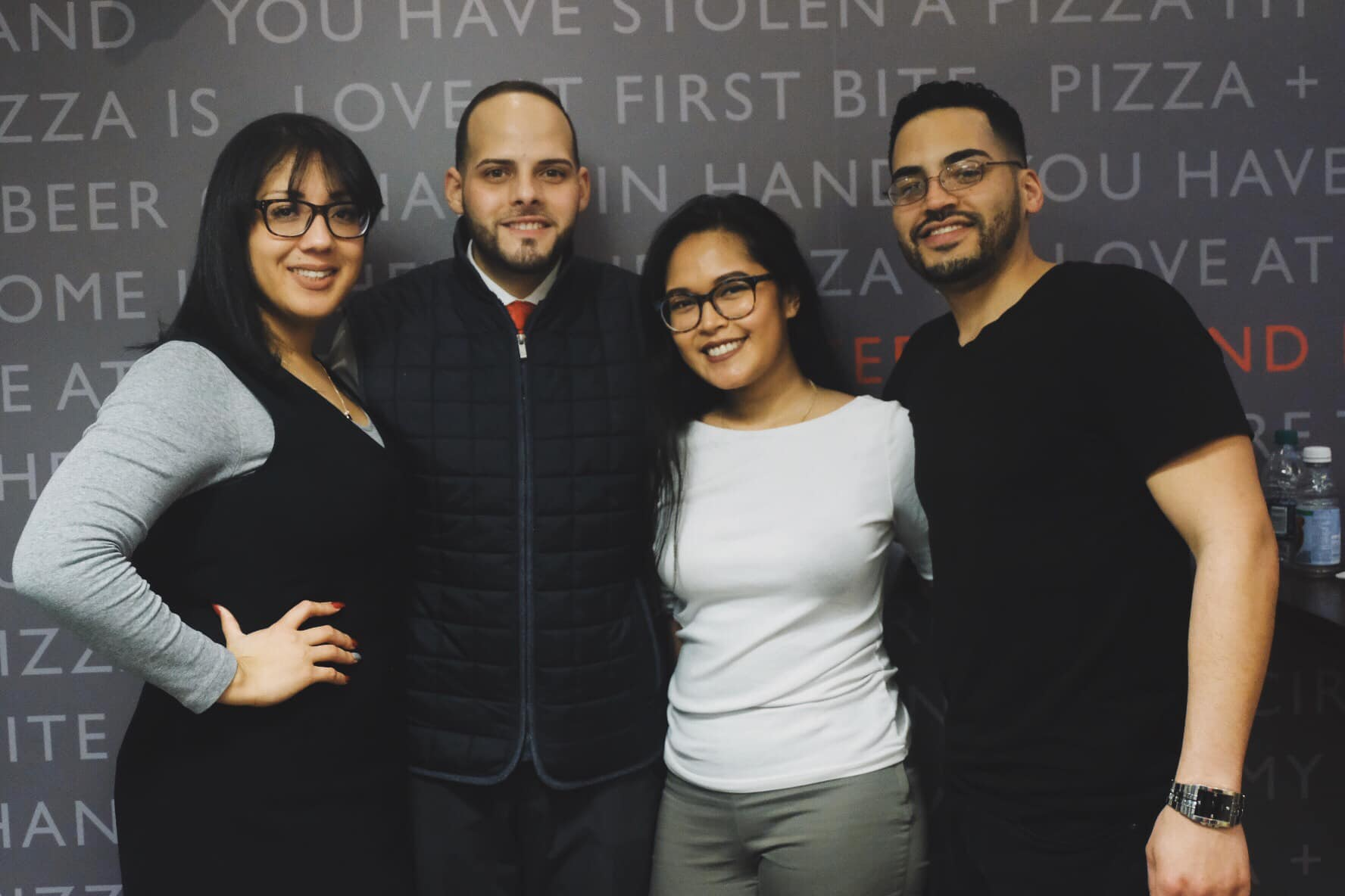 Faustina Cuevas, Jaime Figueroa, Cinda Danh, and Alex Cuevas are the organizers of the The Revolutionists Club in Lynn