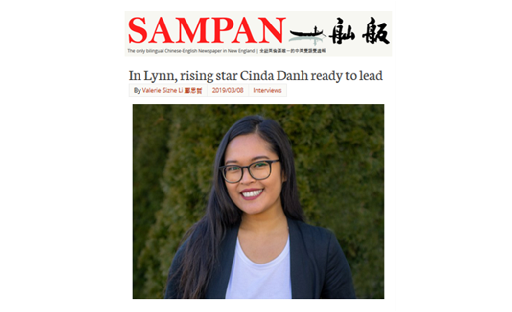 """""""In Lynn, rising star Cinda Danh ready to lead"""" -"""