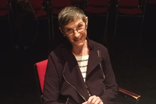 Director and UC Davis Dept of Theatre and Dance professor Mindy Cooper Grenke