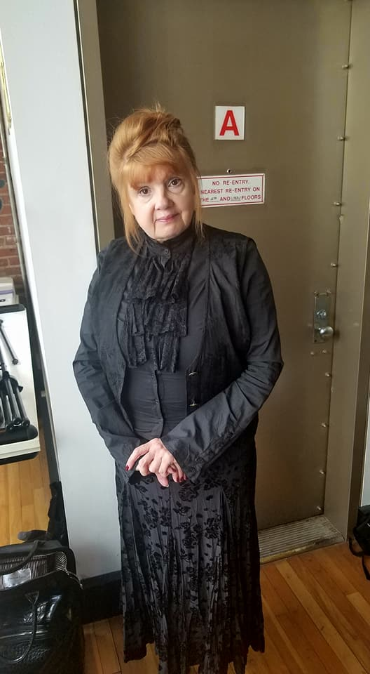 Annie Golden in character.