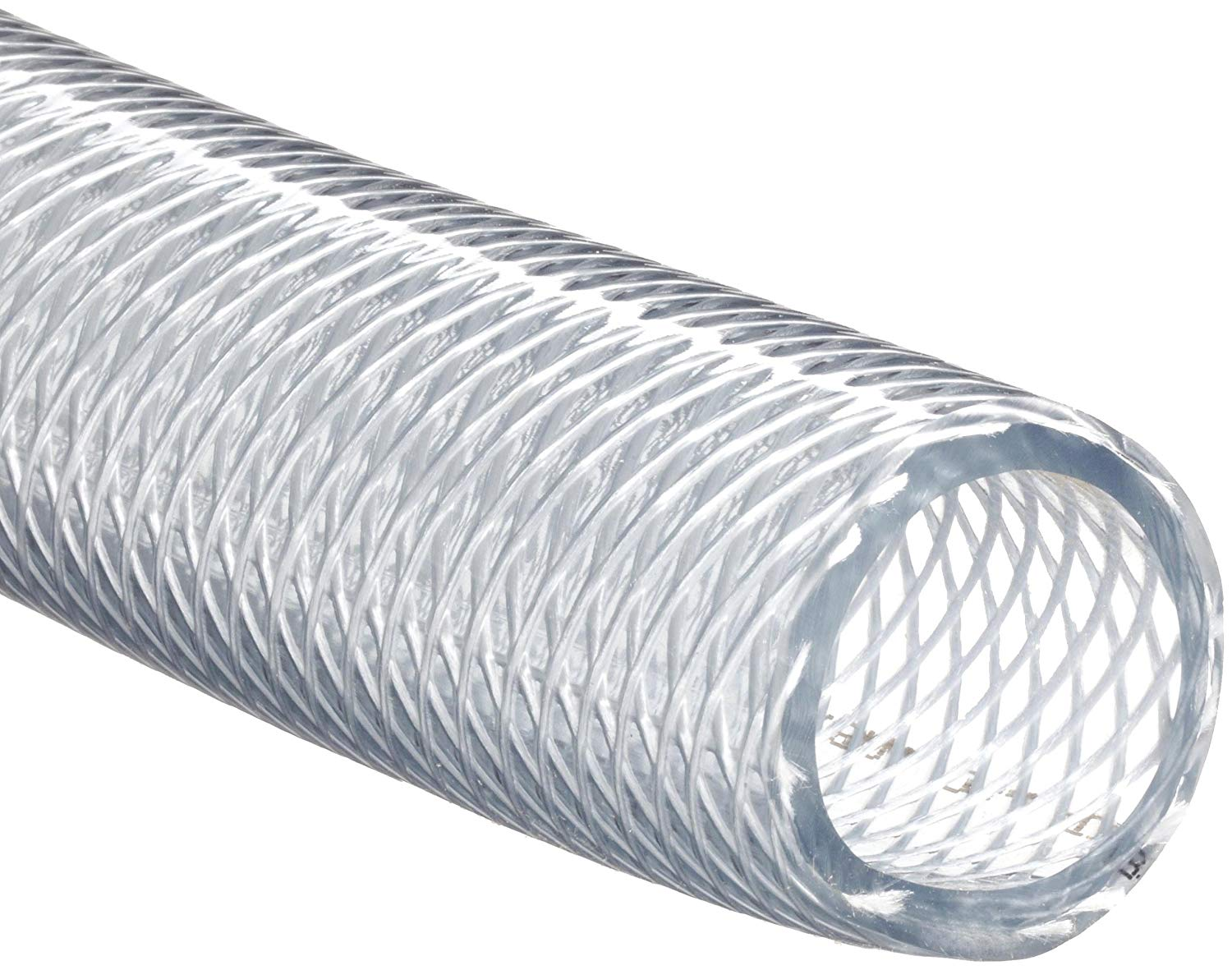 Clear Braided Vinyl -