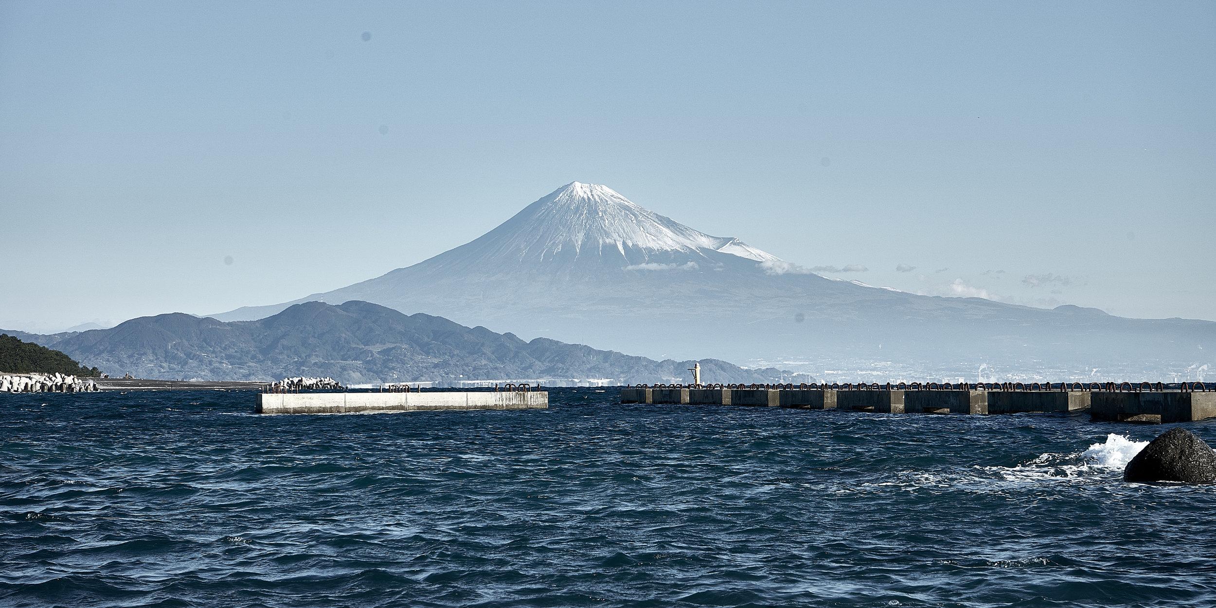 Mt. Fuji taken from Miho no Matsubara, Shizuoka, Japan (November 2018)