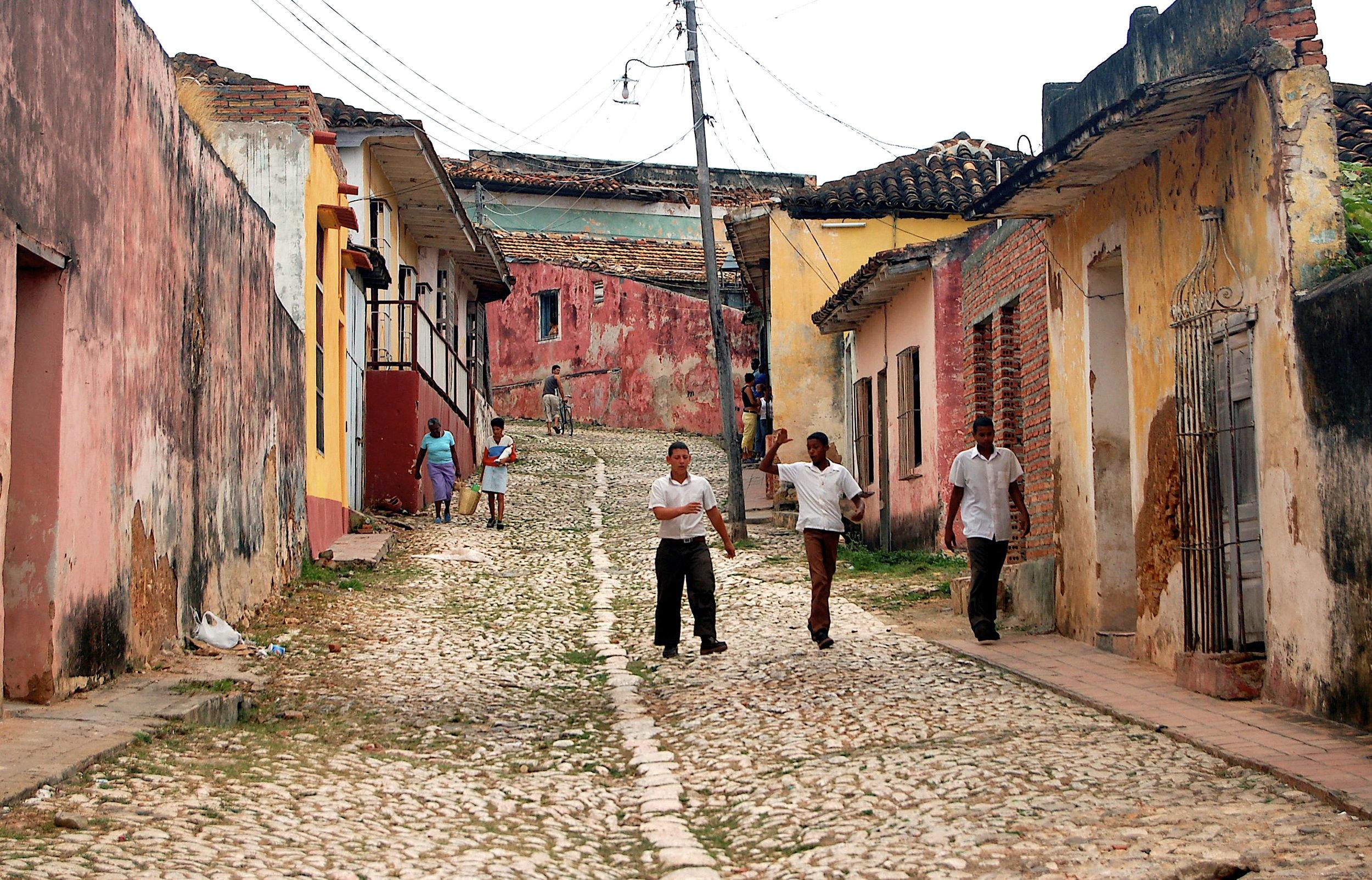 CUBA AND South America -