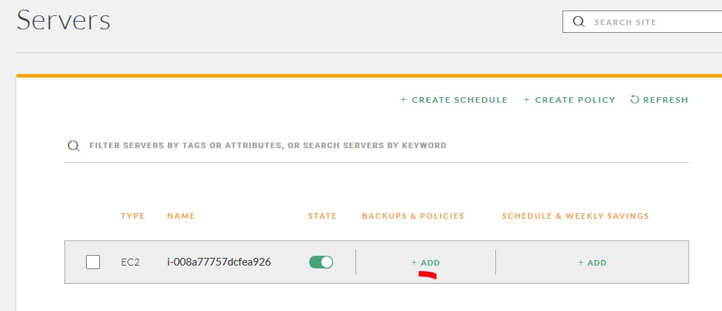 Amazon EC2 instanssi CloudRanger hallinta