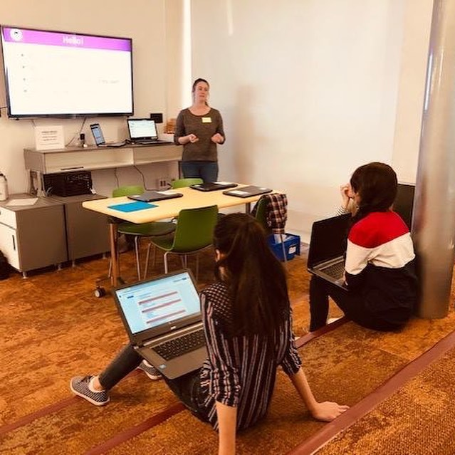 March Workshop was fun! . . . #505codclubs #stem #steminist #stemgirls #stemeducation #engineering #computerscience #computerscientist #womenintech #womenwhocode #girlswhocode #tech #technology #techie #abq #learntocode #steminist #stem #albuquerque #mathematician #bravenotperfect #coding #programming #girlscan #girlsintech #websitebuilder #websitedesigner #css #html