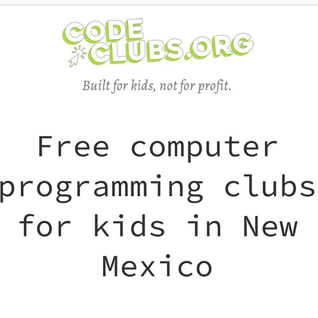 We are back for Fall 2019! Registration is open! . . . #505codeclubs #newmexico #girlswhocode #womenwhocode #nmtech #techinnm #abq #albuquerque #albuquerquetech