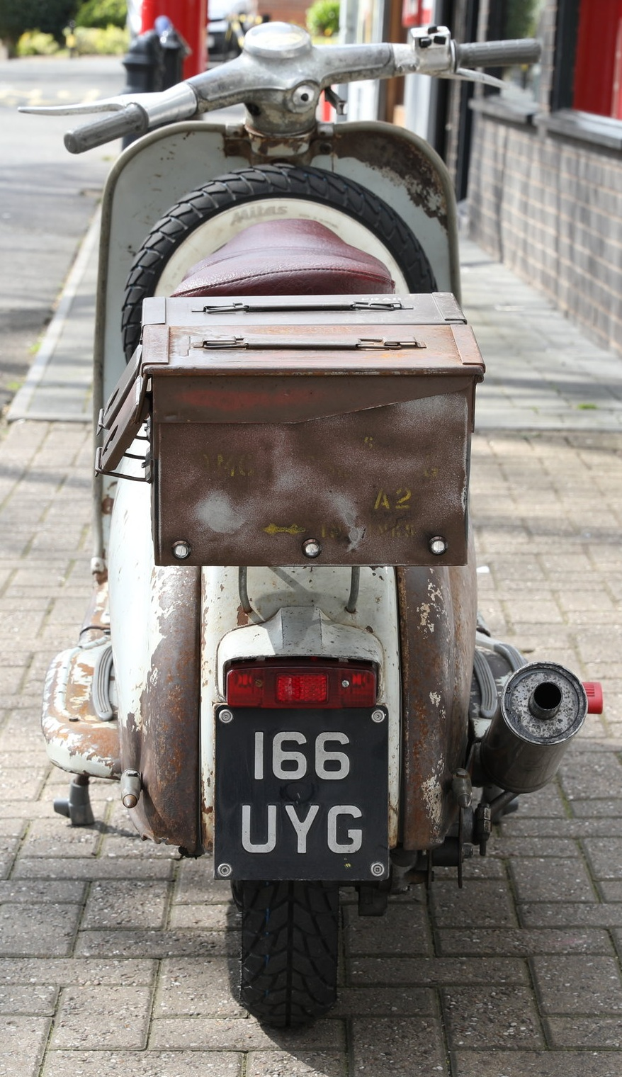 LAMBRETTA SERIES 1 125cc CUSTOM
