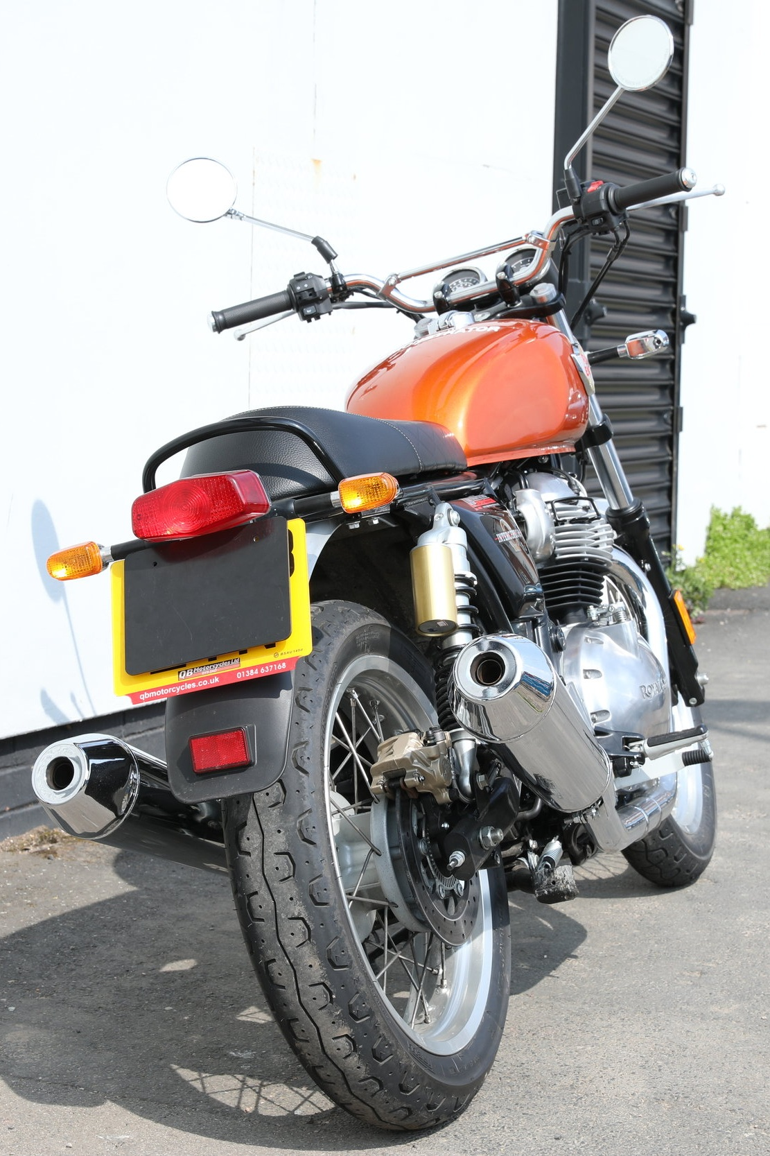 ROYAL ENFIELD INTERCEPTOR 650 (2018-ON)