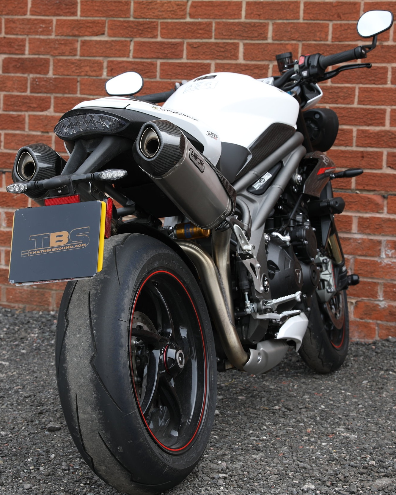 TRIUMPH SPEED TRIPLE 1050RS (2018-ON) ARROW EXHAUST