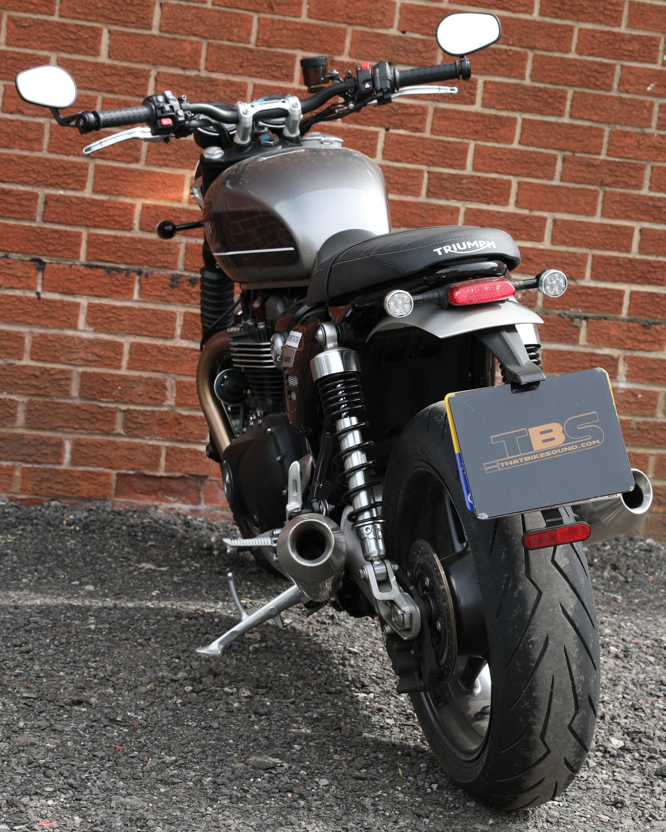 TRIUMPH SPEED TWIN 1200 (2018-ON) VANCE & HINES EXHAUST