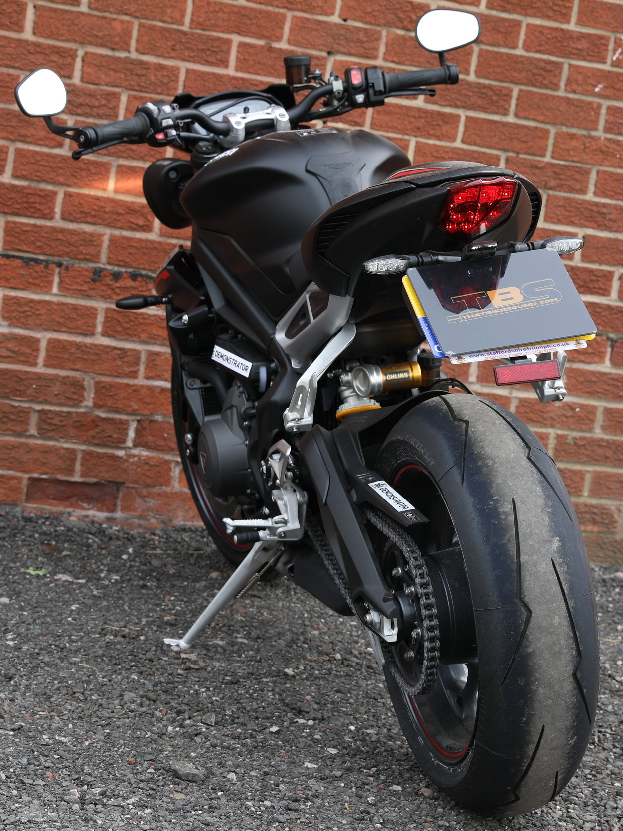 TRIUMPH STREET TRIPLE 765RS (2017-ON)