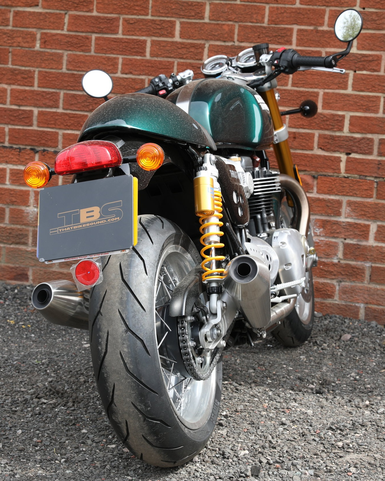TRIUMPH THRUXTON 1200R (2016-ON)