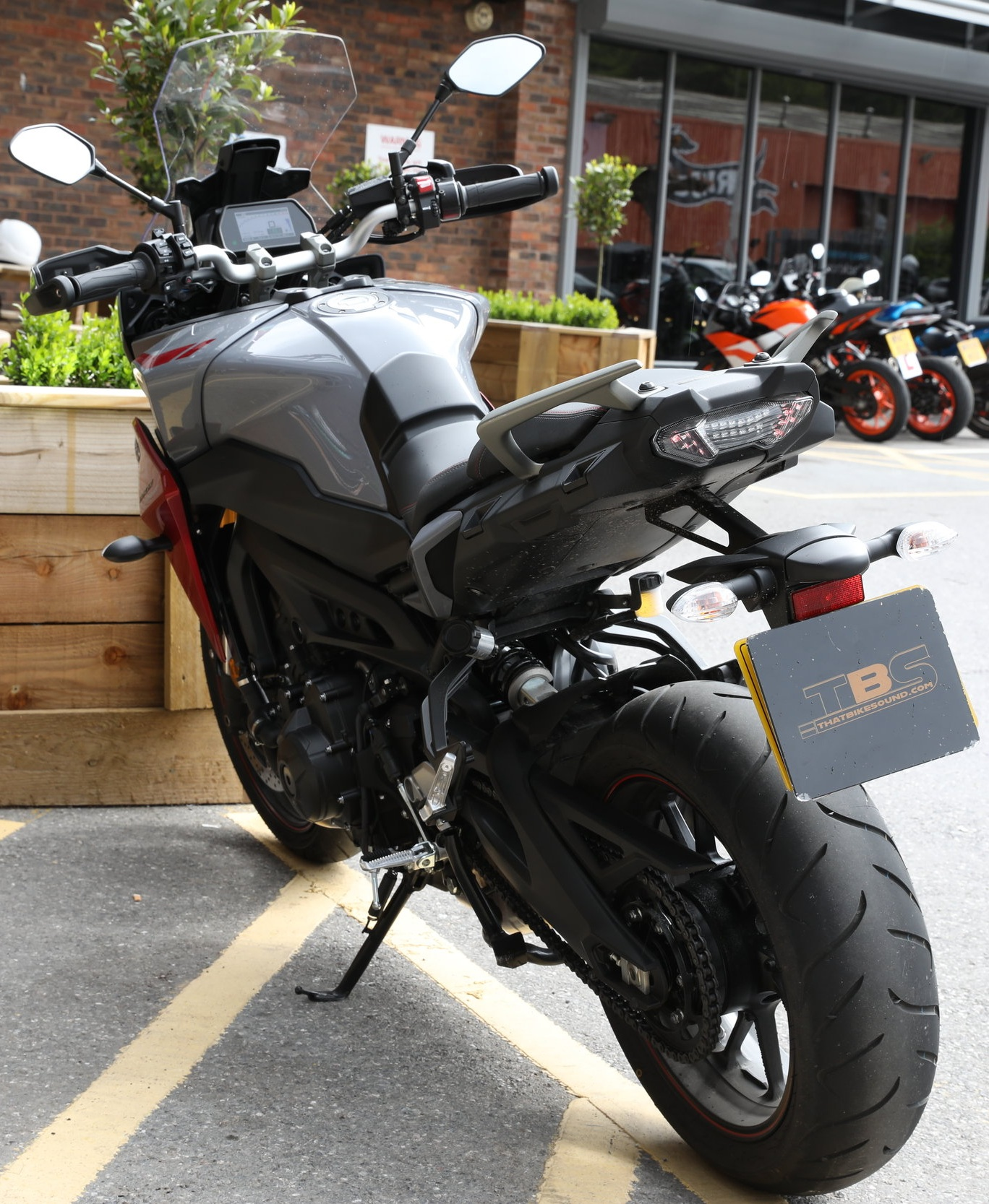 YAMAHA TRACER 900 GT (2018-ON)