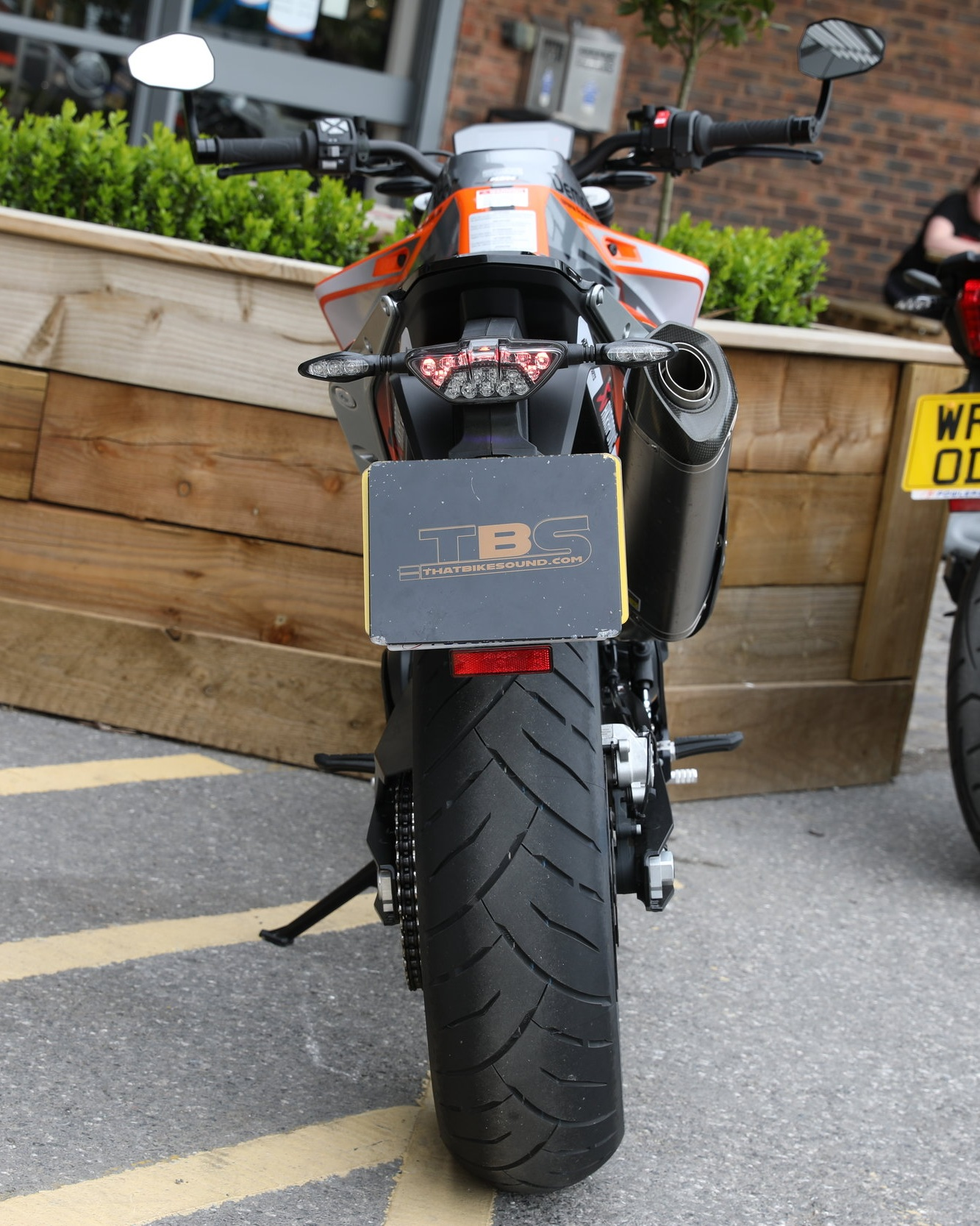 KTM DUKE 790 (2018-ON) AKRAPOVIC SLIP-ON