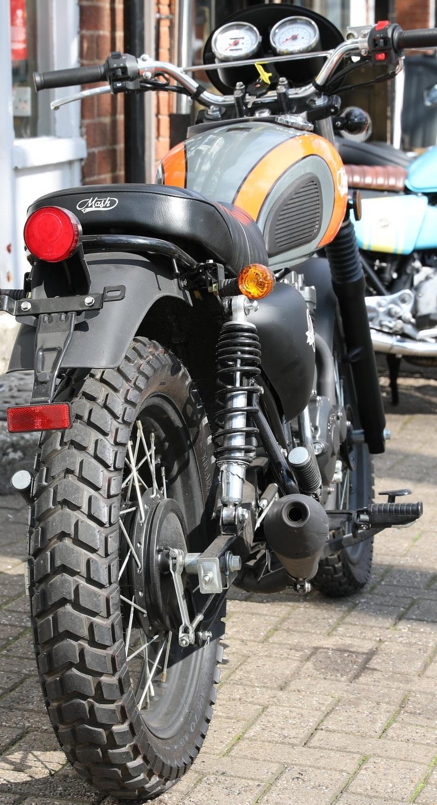 Mash Motorcycles Scrambler -