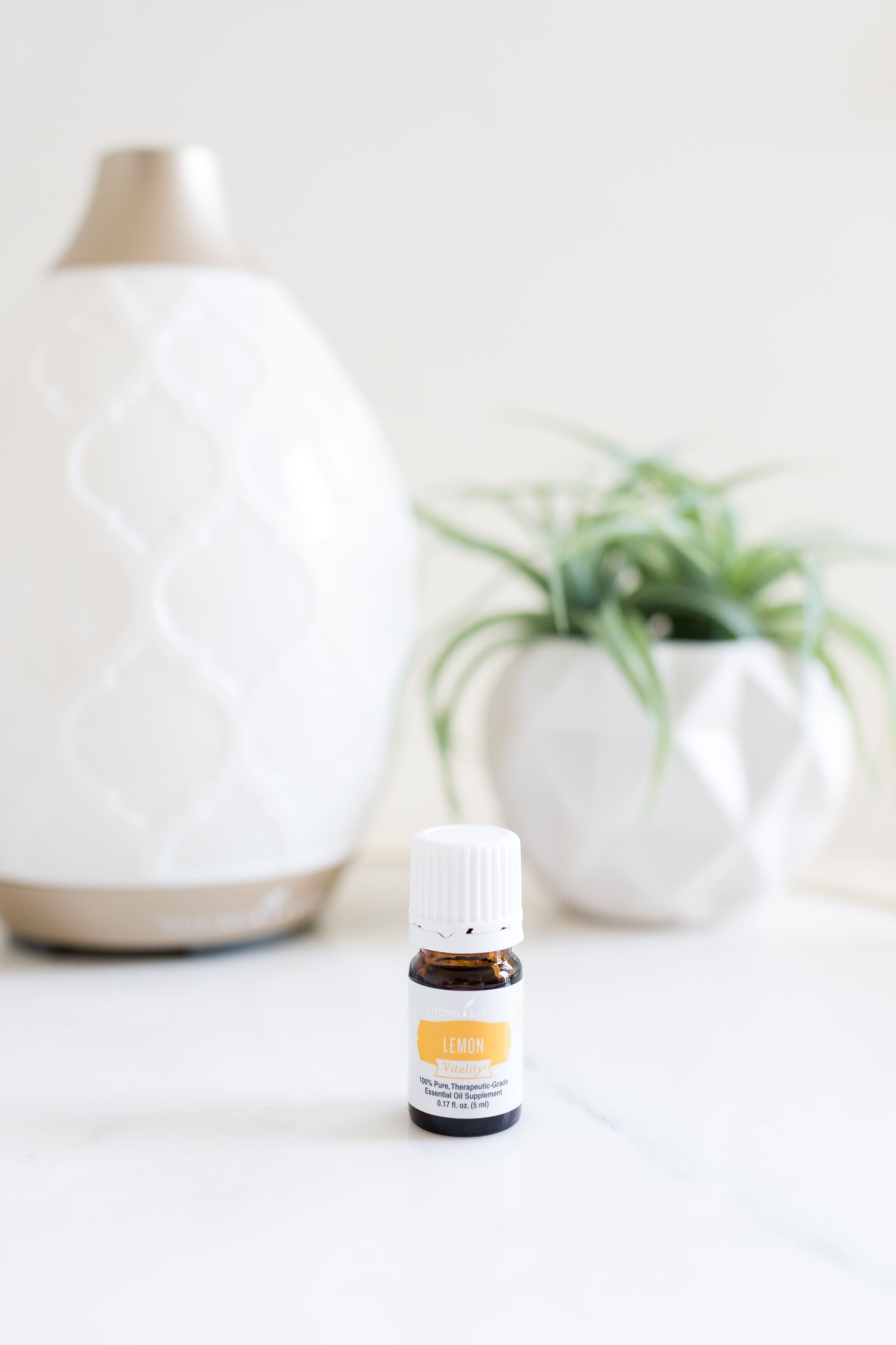 Young Living Lemon Vitality essential oil blend