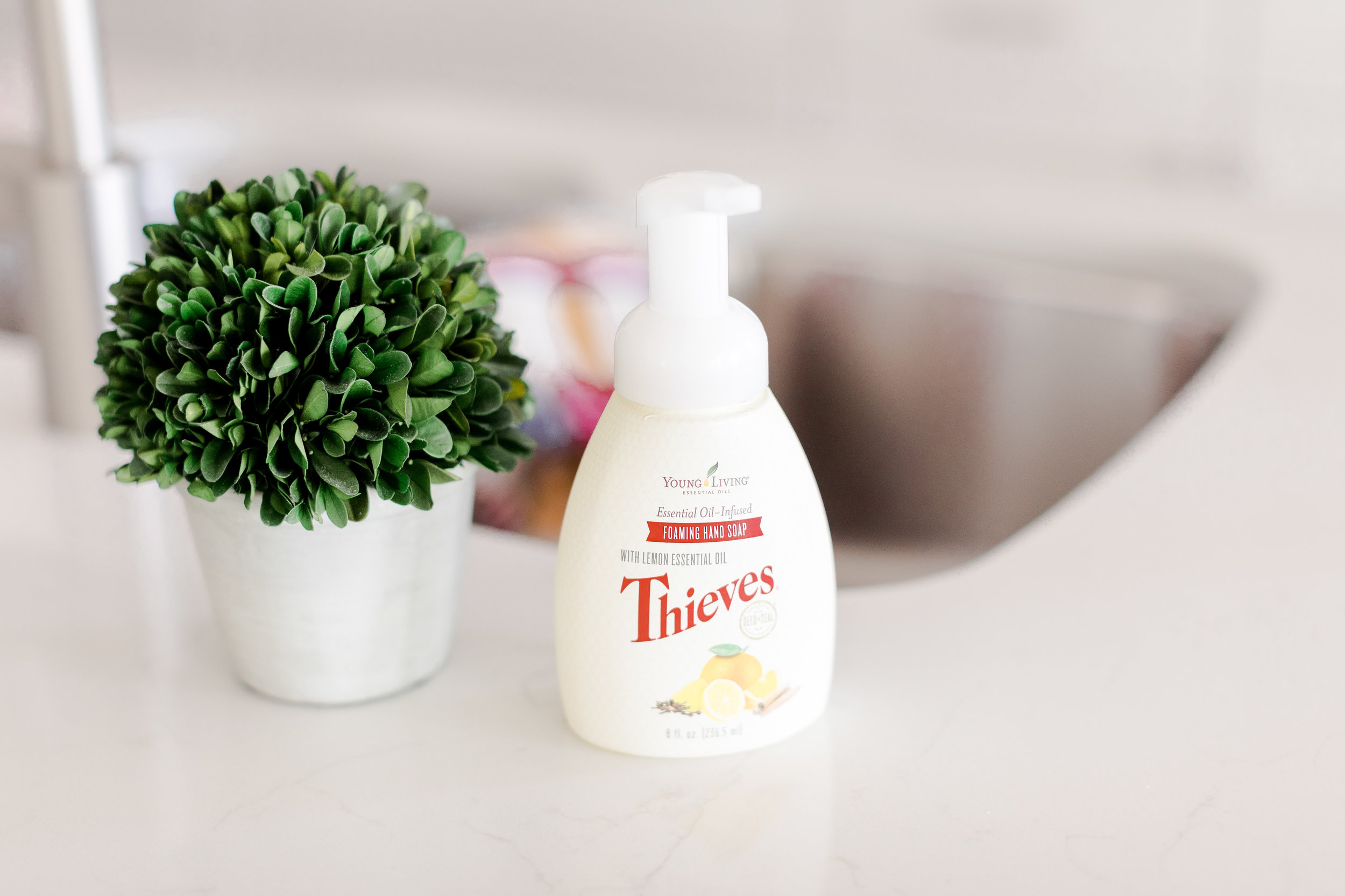 Young Living Thieves hand soap