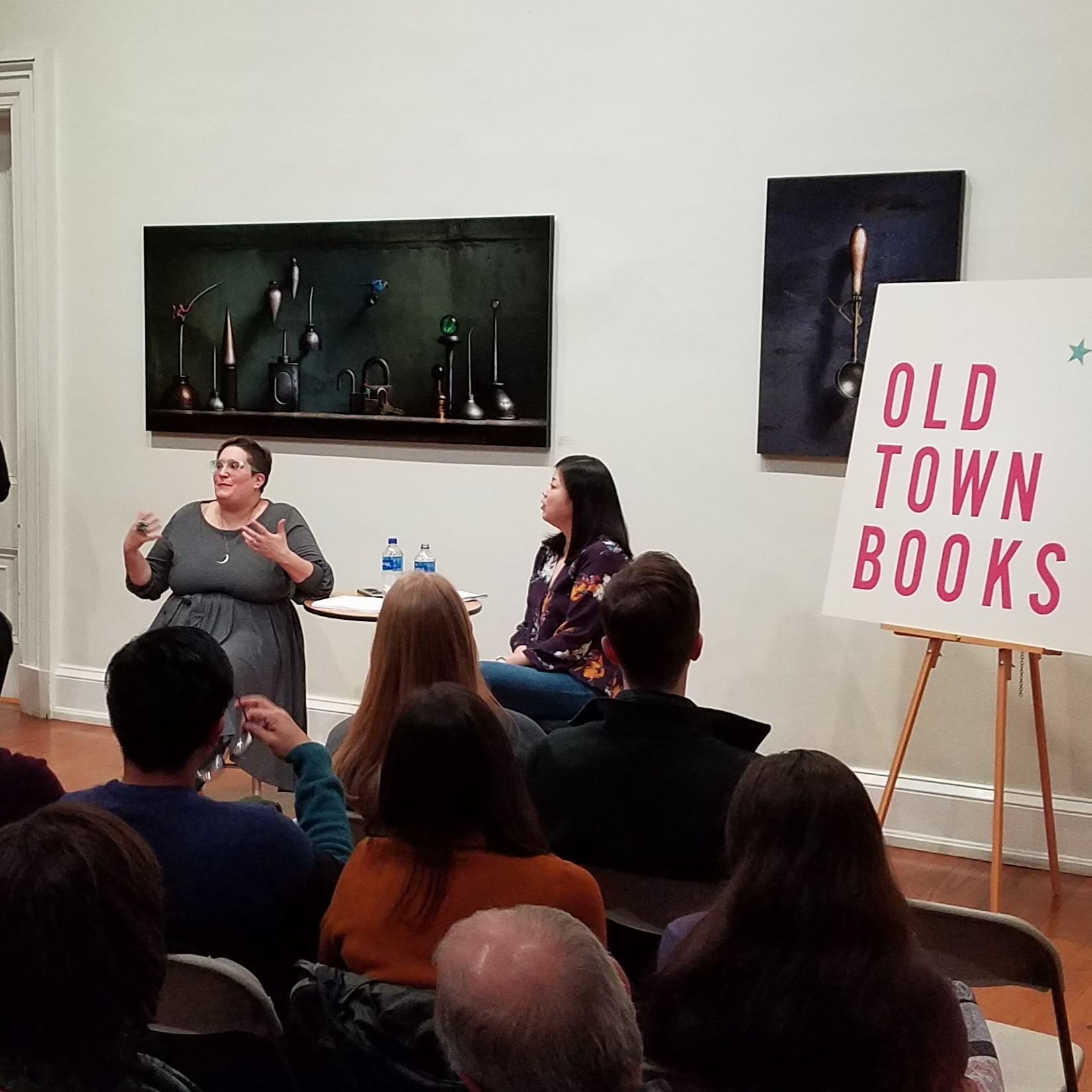- Nicole Chung interviewed Carmen Maria Machado at the Old Town Books event, hosted at the Athenaeum of the Northern Virginia Fine Arts Association.