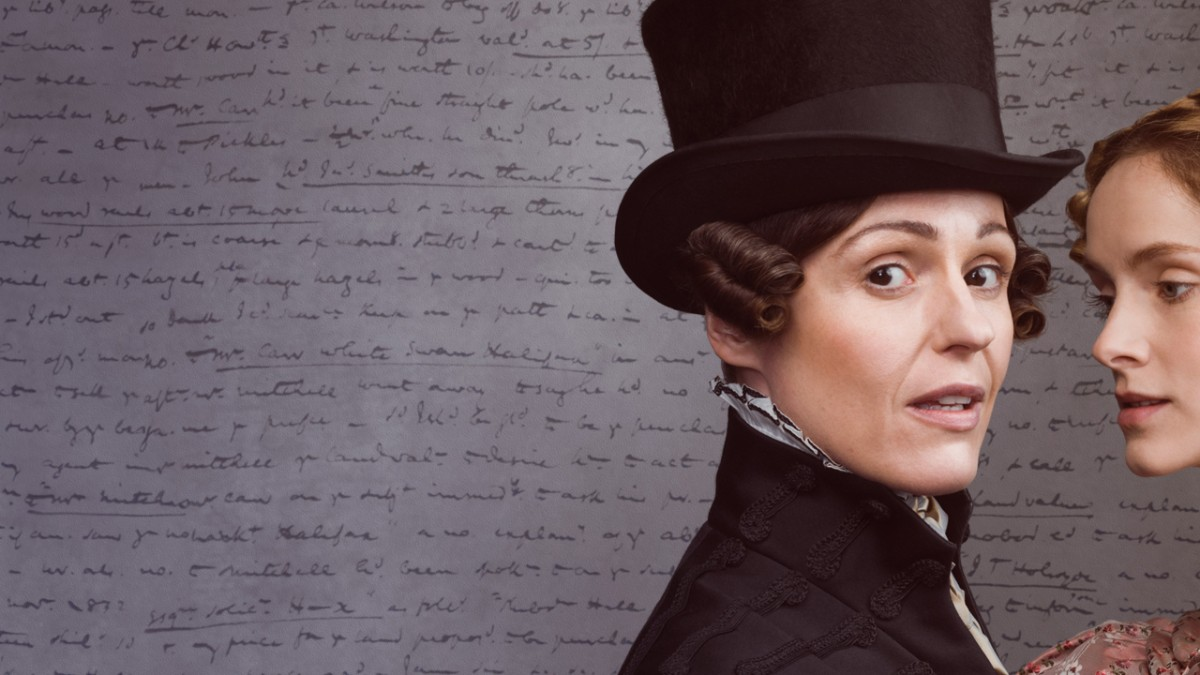 Suranne Jones (left) as Anne Lister and Sophie Rundle as Ann Walker in the BBC and HBO's  Gentleman Jack .  (Image from  HBO )
