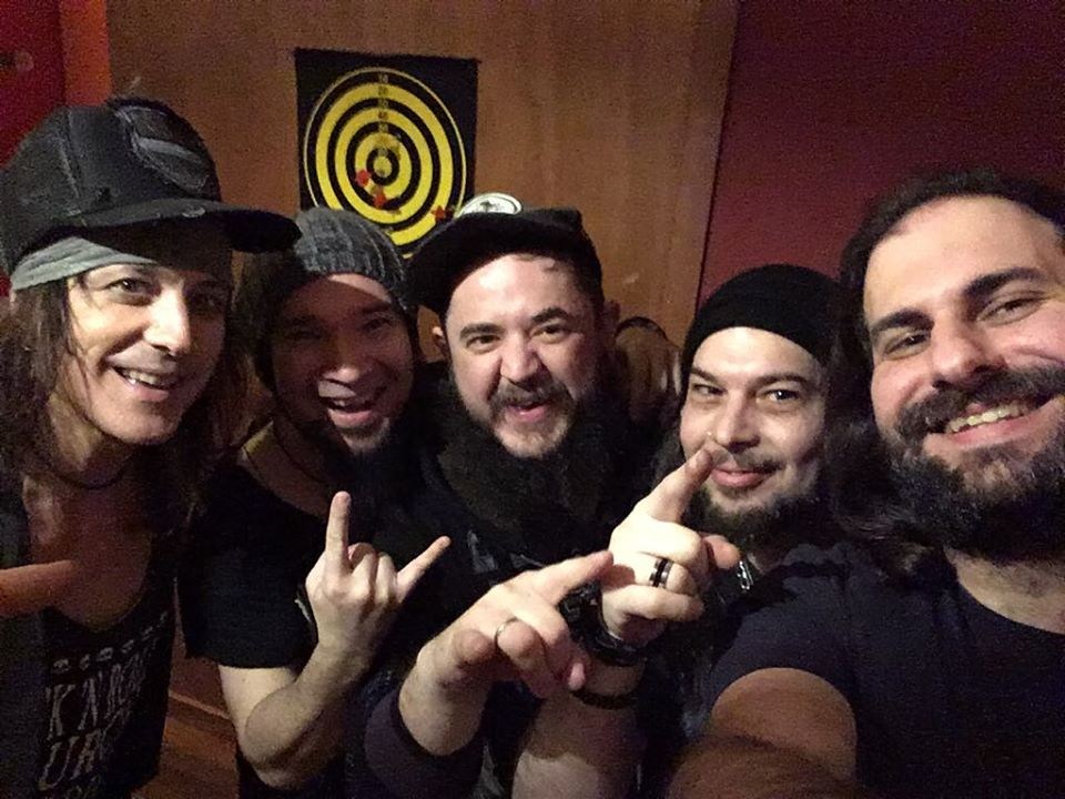 RYAN ROXIE SHOWSIN 2019 #2 - Was a pleasure to play my first 'solo' show of the year in Thessaloniki Greece with our friends from Crystal Tears. I met up with Chris (the drummer) from CT about a year ago to play some guitar on their album...we hit it off so well that he said if I ever needed a band in Greece, they were the band. Well, guess what? I needed a band and we rocked The Eight Ball Club in their hometown and ended up having a very jam-packed few days of rehearsals, radio promo, rock shows, and shots of Ouzo....for those of you that don't know what Ouzo is, let me spare you the hang-over ;)The band line up for this show included Chris Tantanozis on Drums, Kostas Sotos on Guitar, Alex Chamalidis on Bass, and your humble host doing his best to keep pace with a legion of dedicated crazy-ass rock n' roll fanatics! The Tears' singer Søren Adamsen came up as well and helped us sing a few of the Alice Cooper Classics (Bed of Nails was one of them!) Even their 'merch guy' aka 'The Butcher' helped out on and offstage ...You can see by some of the photos the people know how to enjoy themselves....or should I say drink....they even released their own limited-edition Beer for this show...you can't say the Greeks don't know how to promote a party!Most of all, thank you so much good people of Thessaloniki for helping make THIS Big Rock Show so special! It amazes me that I can come to a country where I don't speak the language yet the people are SO warm and supportive of what I'm doing....PLUS the musicians I play with all bond through the language of Rock n' Roll...hopefully many more trips to come in my adopted country of GREECE!!!