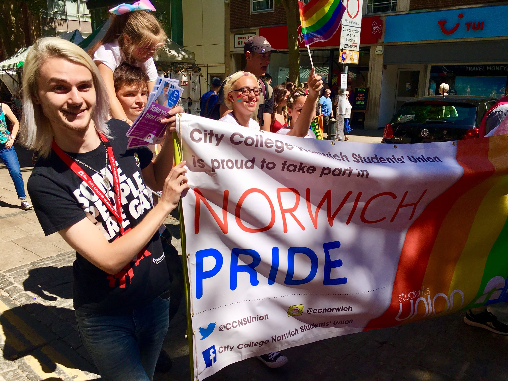 Luke Mitchell - President: City College Norwich Students' Union