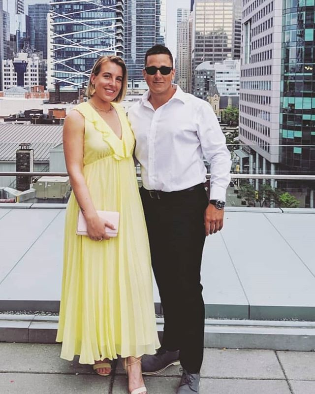 Happy Wedding @dee_nicol @m.needler12 Congrats Cousins ❤️ . . . #tiffbelllightbox #wedding #happy #wedding #marriage #party #oandb @oliverbonacini Yumm #realgoodfood #chefmichaelg