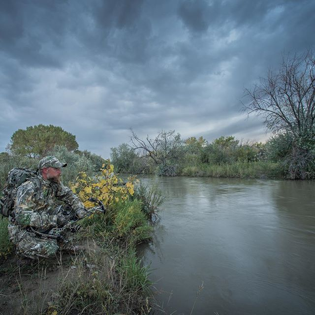 The perfect storm. #hunting #realtree #mansbestfriend