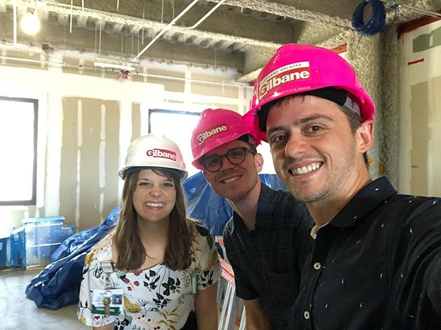 We took the official hard hat tour of the north tower expansion earlier this week to plan for a future project. We love working with Oak Hill Hospital!