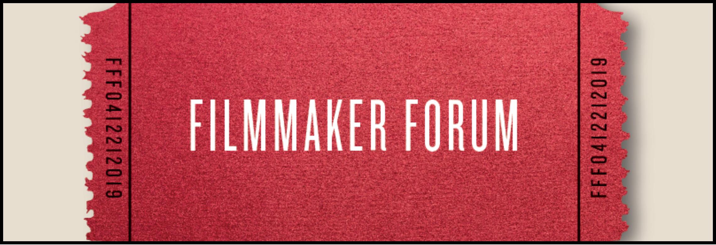 Foster Wilson Florida Film Festival Filmmaker Forum 2019.png