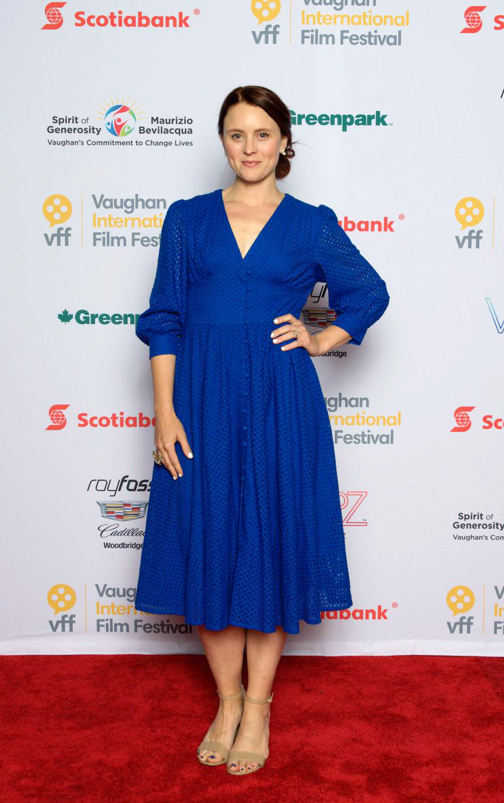 Made Public director Foster Wilson at the VFF Awards 2019 & Closing Night After-Party. Image courtesy of Vaughan International Film Festival.
