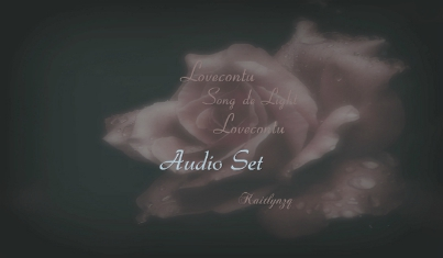 Squarespace_Audio Set_Lovecontu Song de Light Lovecontu audio set.jpg