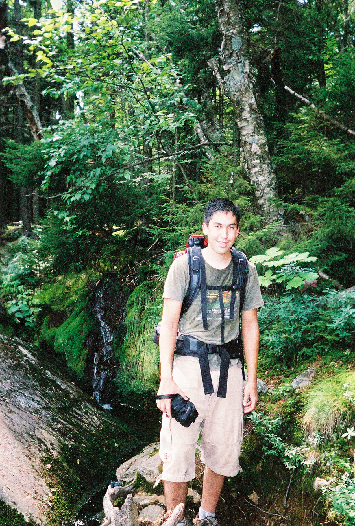 Hiking the White Mountains, New Hampshire, 2003