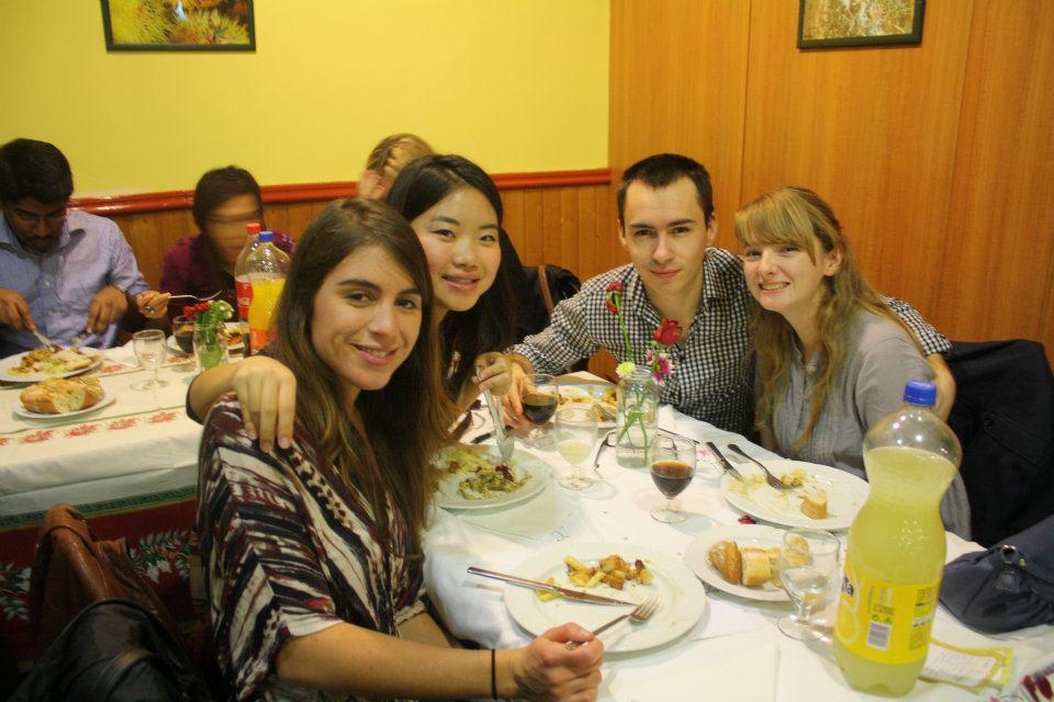 Ex-pat Thanksgiving in Barcelona