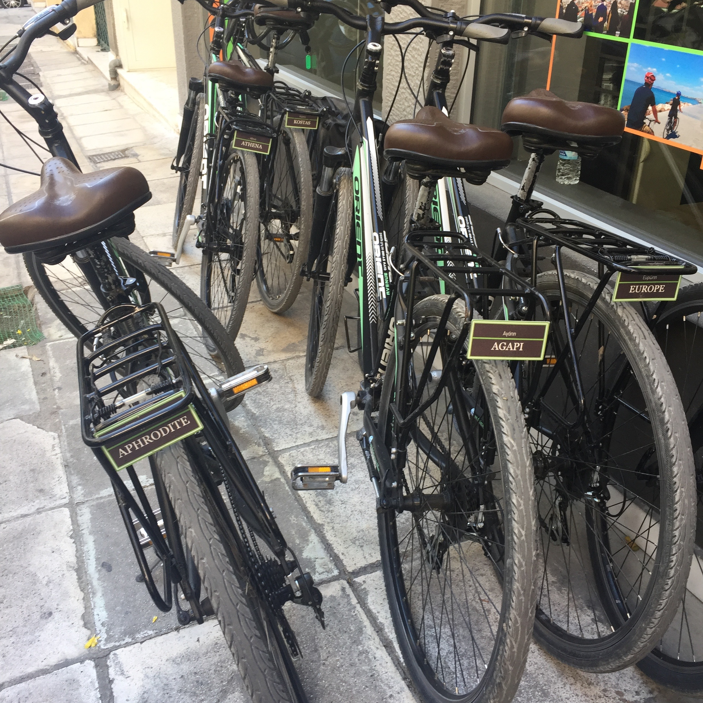 Bike rental is an excellent option when traveling to keep things cheap…and healthy!