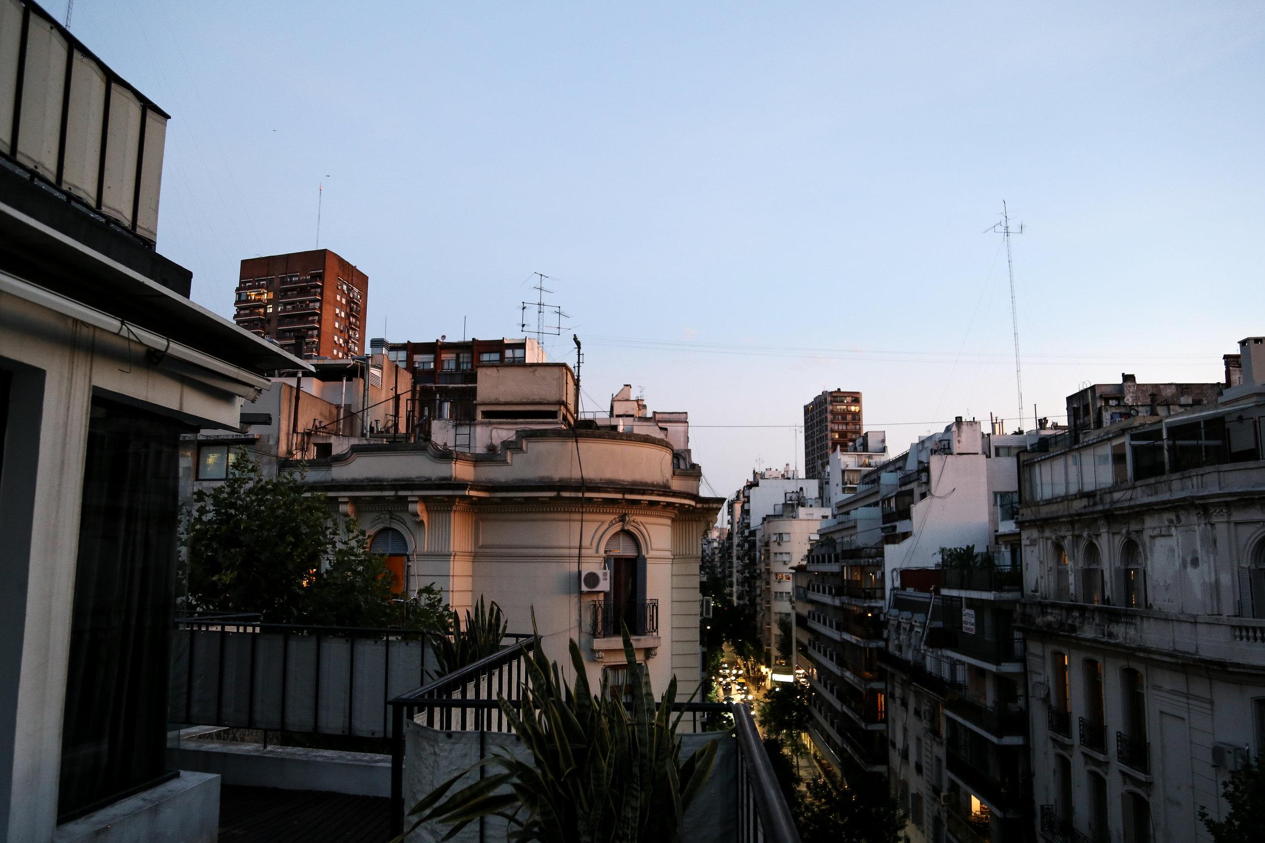 Recoleta views in Buenos Aires.