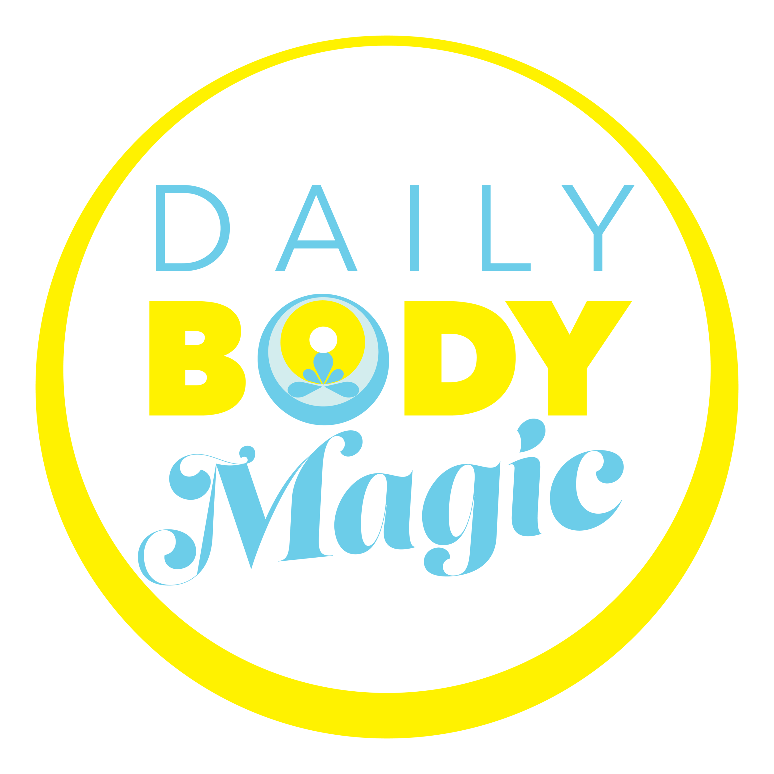 Daily Body Magic: 90 Days of Mindfulness - Transform Your Awareness of Your Breath with 90 Days of Simple Reminders in Your Inbox.