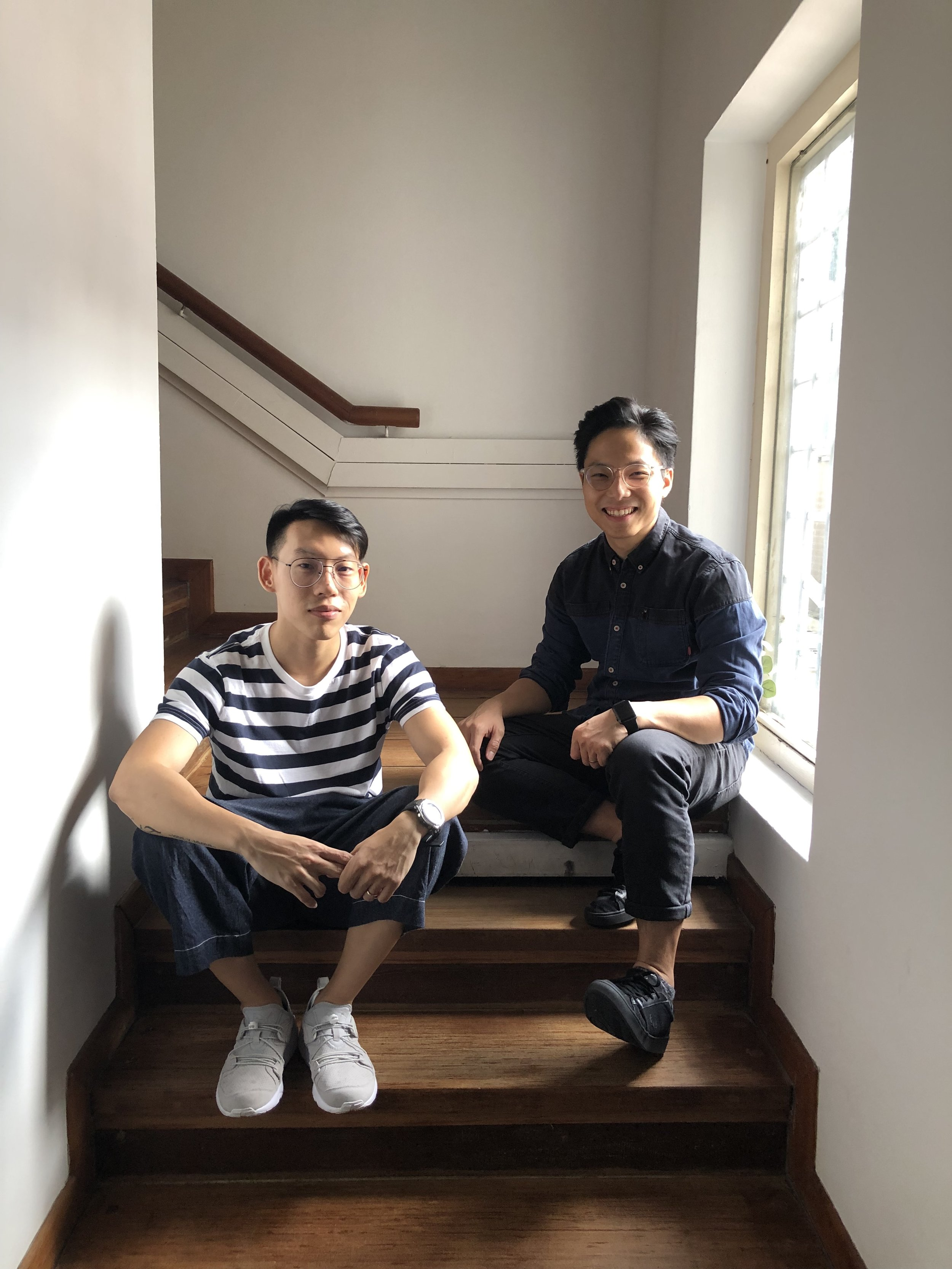 Melvin Ong (left) and Ryan Tan (right), the duo behind BetaBeta