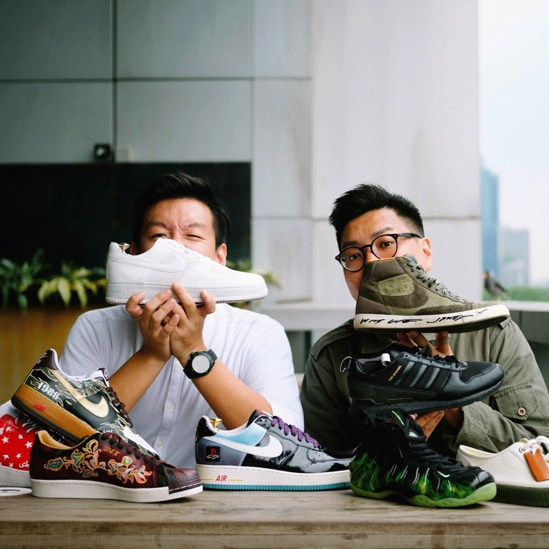 Jonathan Fong and Dexter Tan of Sole Superior