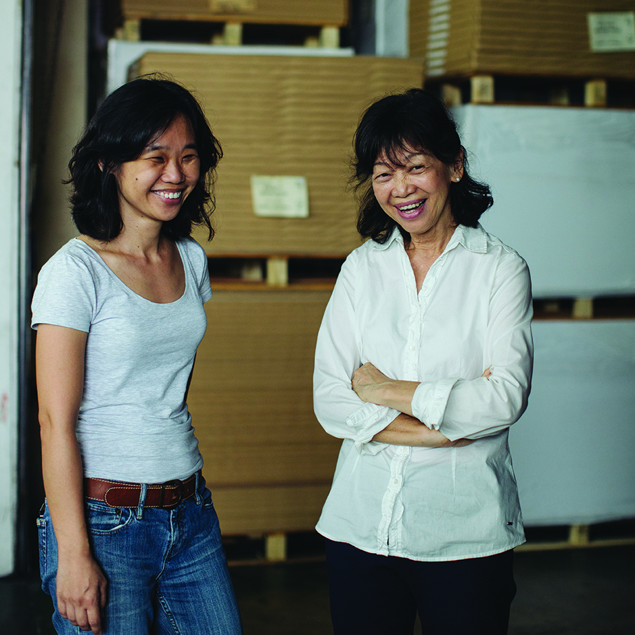 Jane Goh and Jeanette Lim of RJ Paper