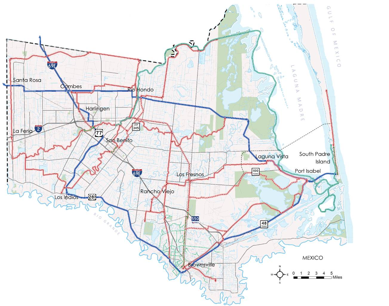 Envisioned Caracara Trail Network