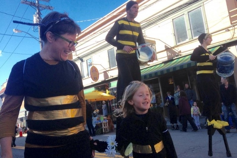 Honeybee Festival parade, Narrowsburg, New York  (Jean Santo)