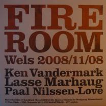 """012 Fire Room Ken Vandermark/Lasse Marhaug/Paal Nilssen-Love  """"Wels 2008/11/08"""""""