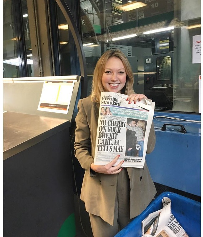 Judging the Newsawards, March 2018 - In March 2018, I joined representatives from across the industry to judge the year's Newsawards. Categories included National Newspaper of the Year, Young Achiever of the Year and Magazine of The Year. The judging took place at Broxbourne printing press, so I got to see the Evening Standard going to print which was, it has to be said, pretty exciting….The winners of the awards are listed here.