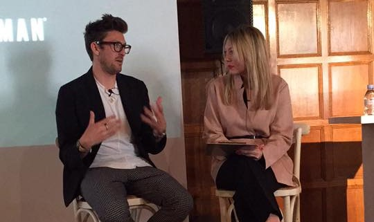 Henry Holland x Ben Sherman panel, June 2017 - To celebrate London Fashion Week Men's, I was invited to interview Henry Holland in front of an audience of Ben Sherman executives from around the world. He was great - we talked about everything from collaboration to Brexit to clubbing.