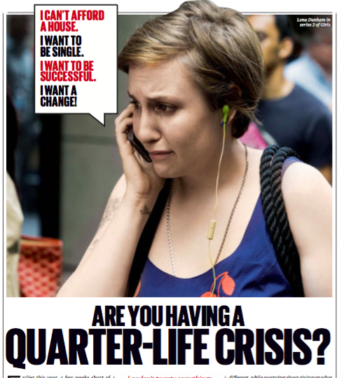 Are you having a quarter-life crisis? - Earlier this year, a few weeks short of my 29th birthday, I decided to leave my perfectly good job at a newspaper in favour of… well, what I wasn't sure. 'Adventure' was the vague catch-all I gave. In truth, I had no idea. When I emailed a friend with the news, she replied: 'Wow! Are you having a quarter-life crisis?'Was I? I was in my late twenties, soon to be unemployed….READ MORE